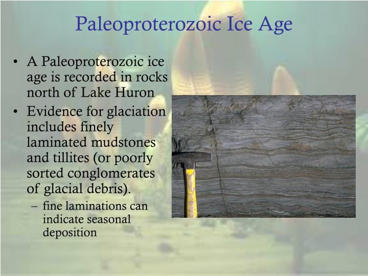 Paleoproterozoic Ice Age