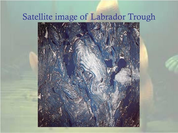 Satellite image of Labrador Trough