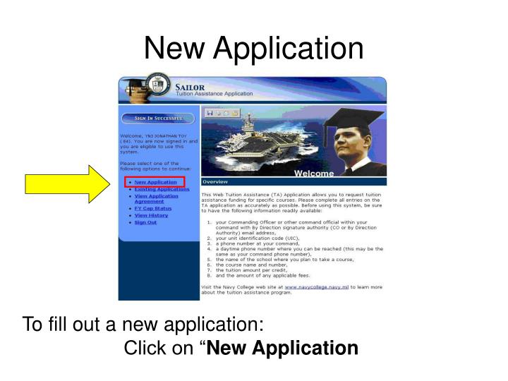 New Application