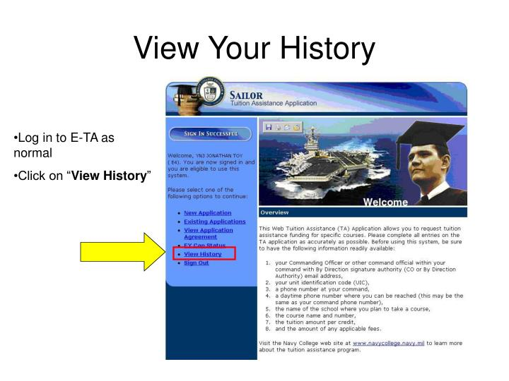 View Your History