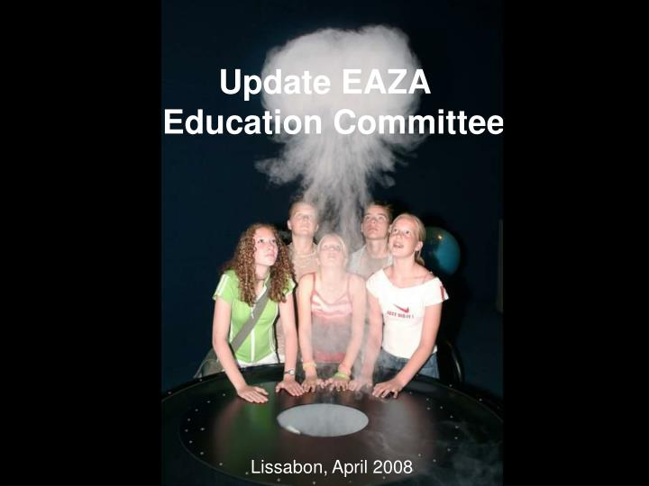 Update eaza education committee