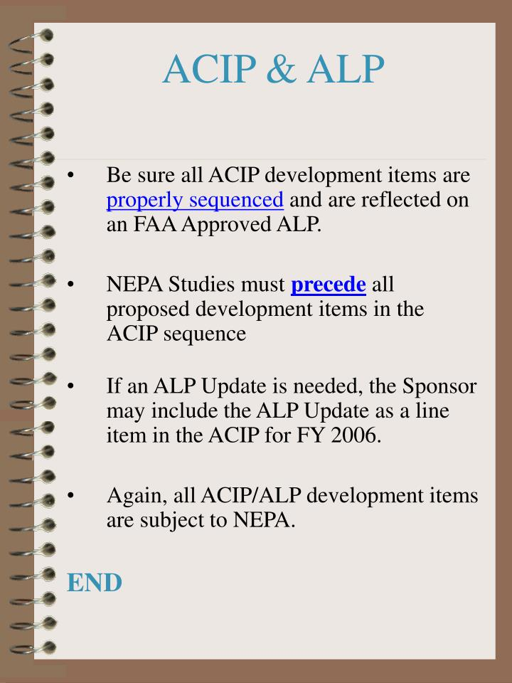 ACIP & ALP