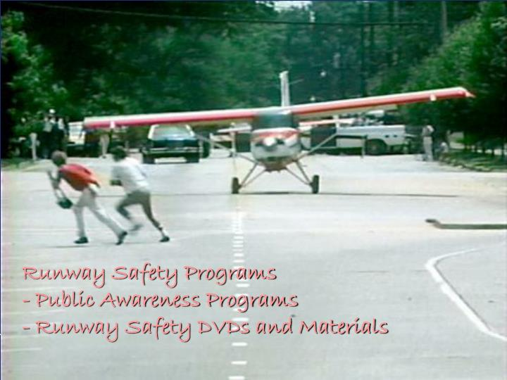 Runway Safety Programs