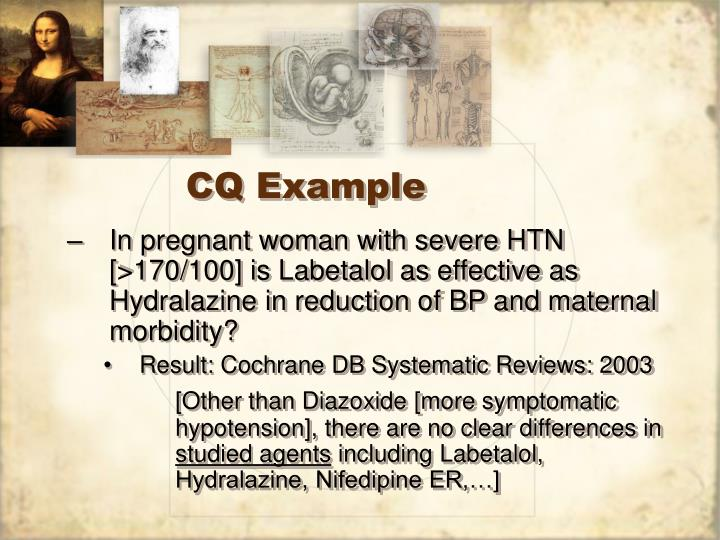 CQ Example