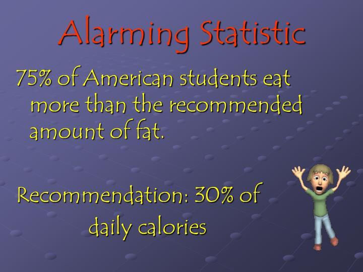 Alarming Statistic