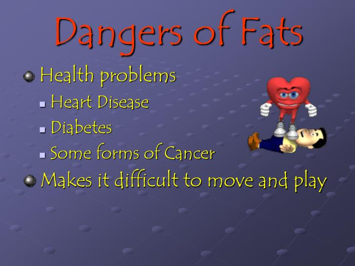 Dangers of Fats