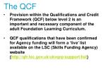 the qcf