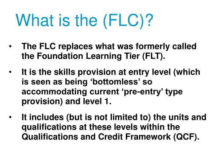 What is the flc