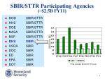 sbir sttr participating agencies 2 5b fy11