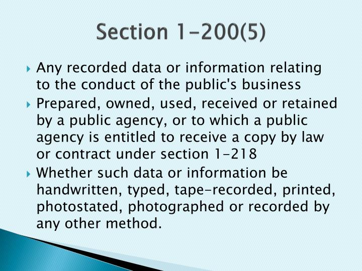 Section 1-200(5)