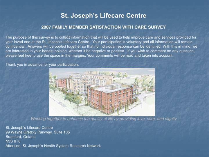 St. Joseph's Lifecare Centre