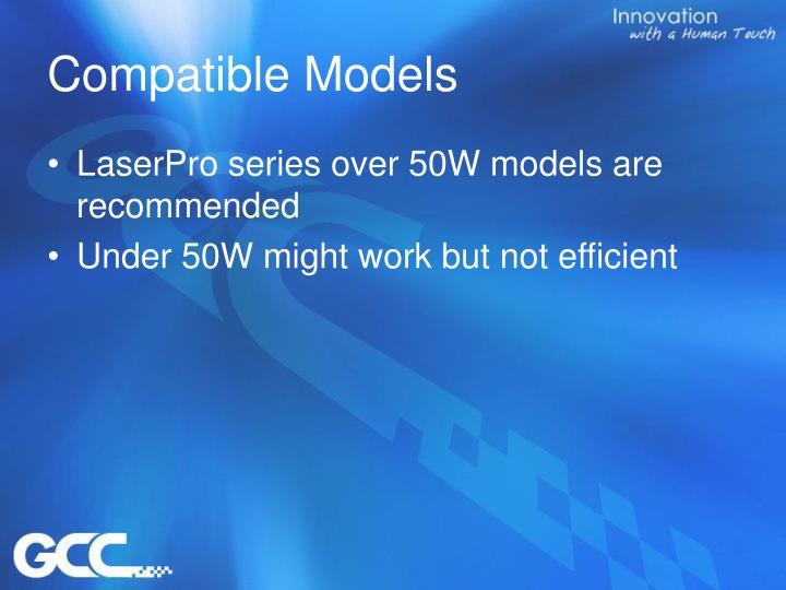 Compatible Models