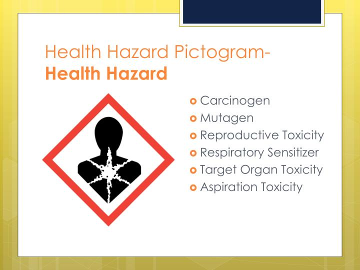 Health Hazard Pictogram-