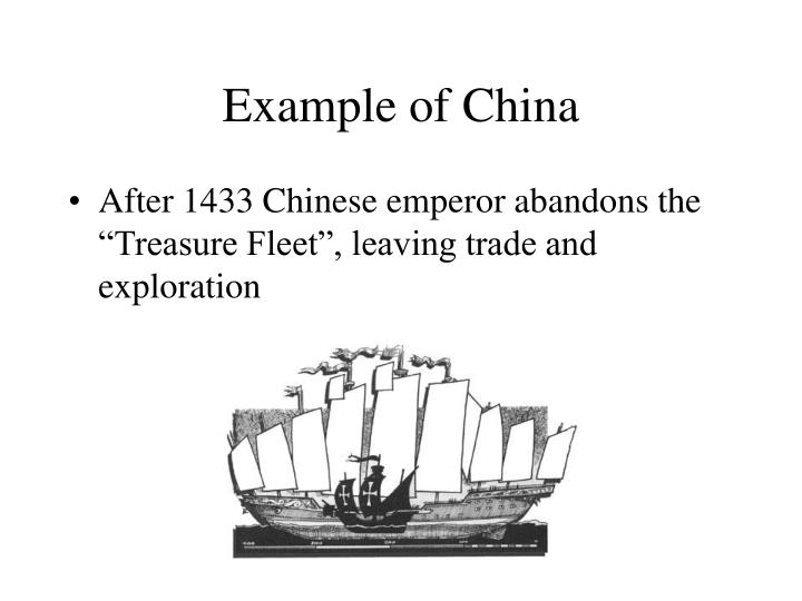 Example of China