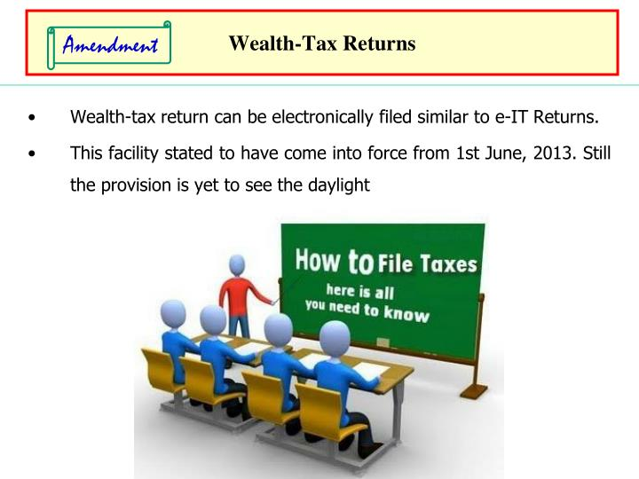 Wealth-Tax Returns