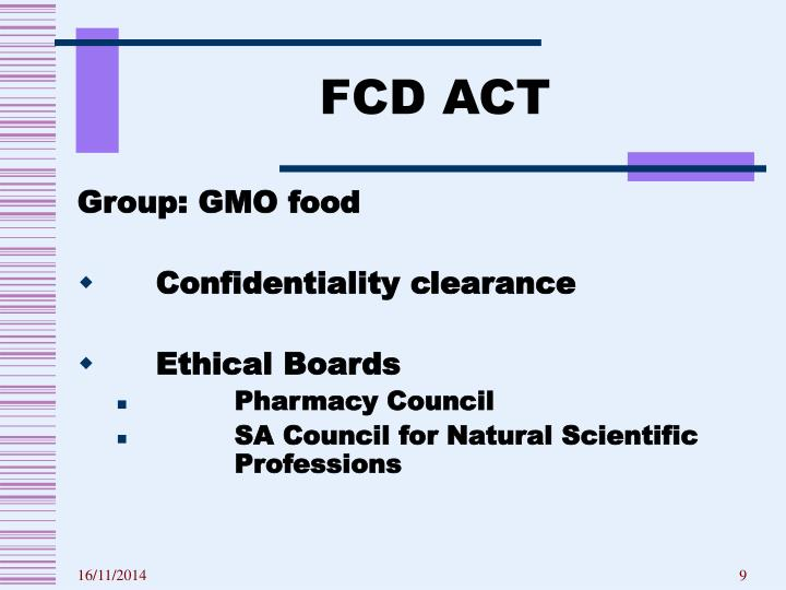 FCD ACT
