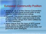 european community position2