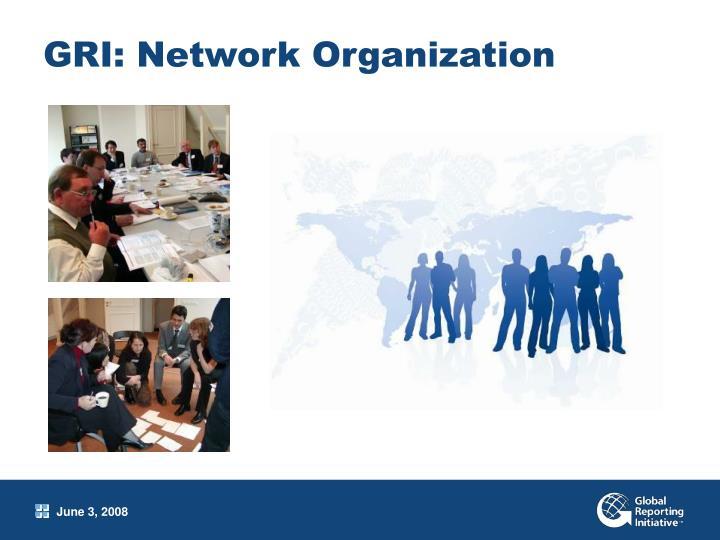 GRI: Network Organization