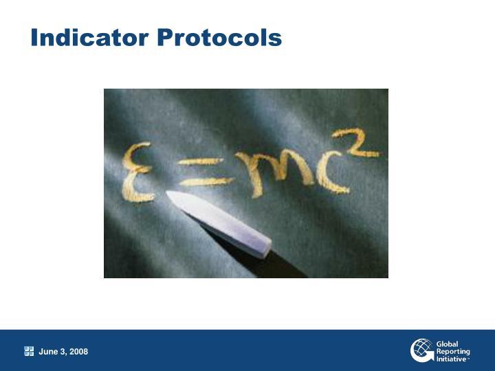 Indicator Protocols