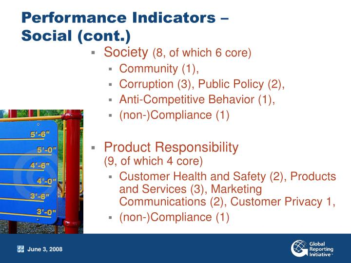 Performance Indicators –