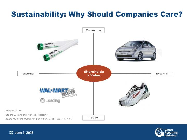 Sustainability why should companies care