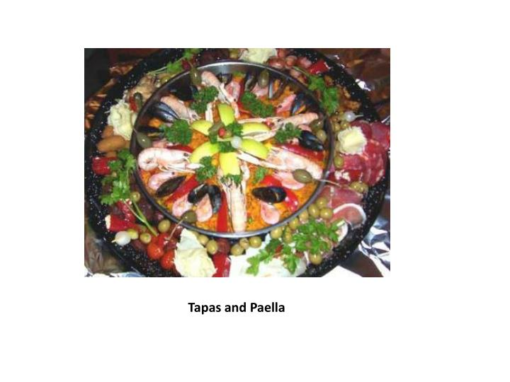 Tapas and Paella