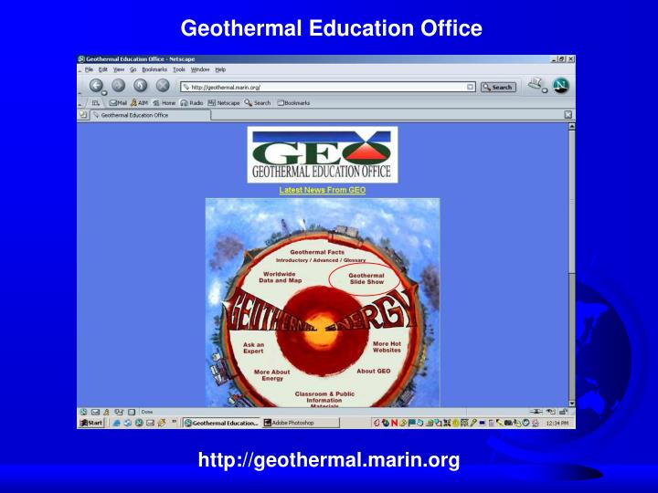 Geothermal Education Office