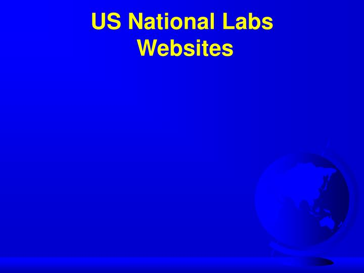 US National Labs