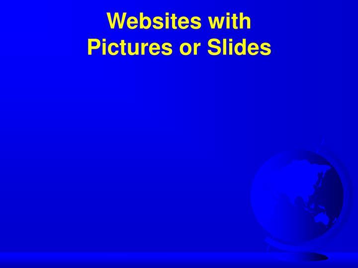 Websites with