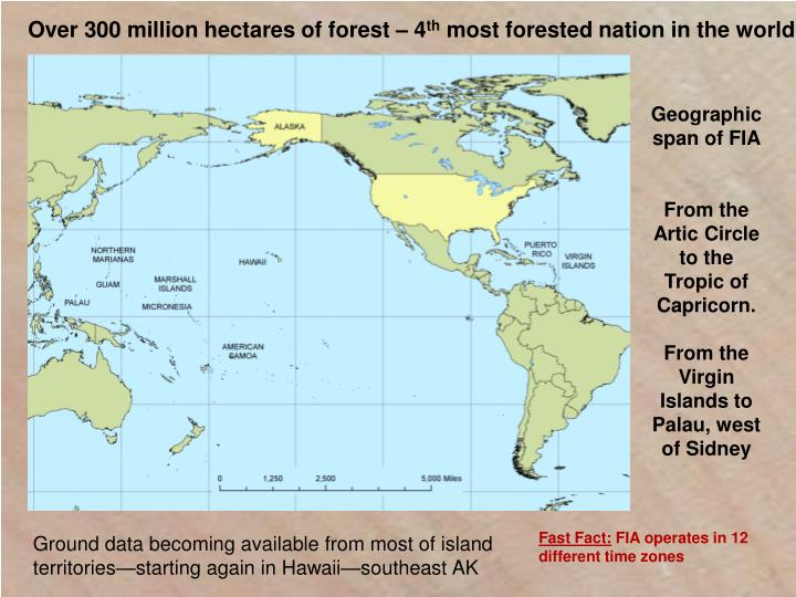 Over 300 million hectares of forest – 4