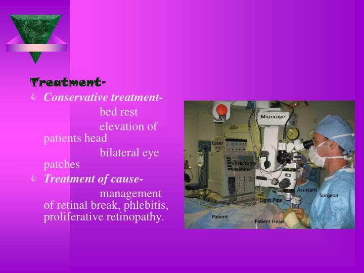 Treatment-
