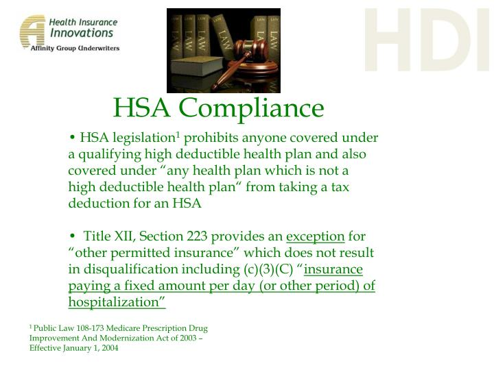 HSA Compliance