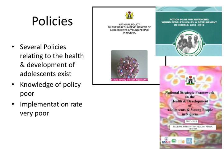 Policies