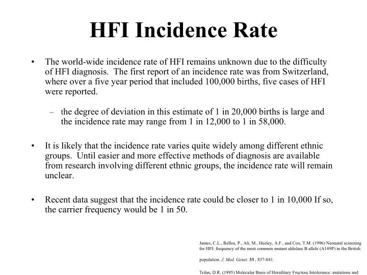 HFI Incidence Rate