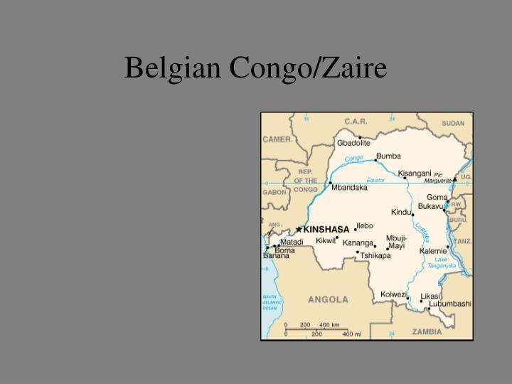 Belgian Congo/Zaire
