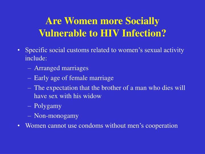 Are Women more Socially