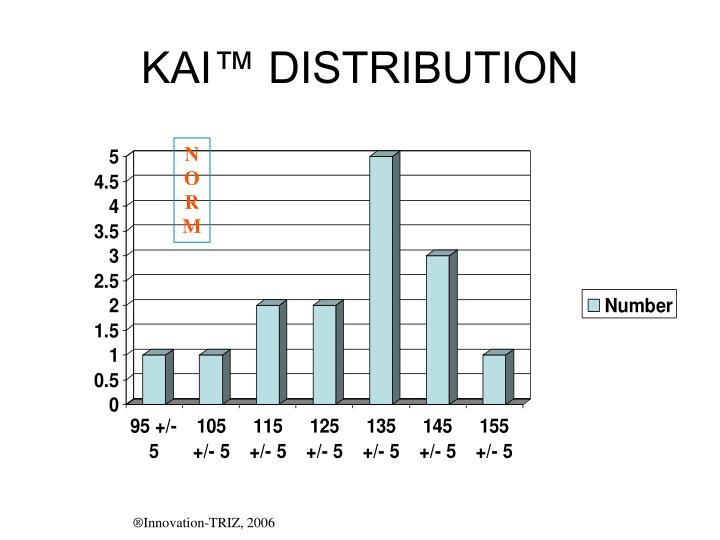KAI™ DISTRIBUTION