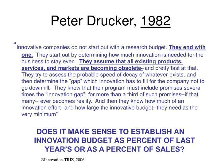 Peter Drucker,