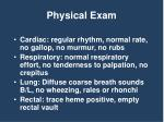 physical exam1
