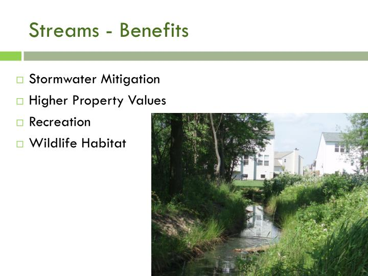 Streams - Benefits