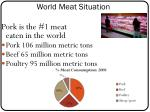 world meat situation