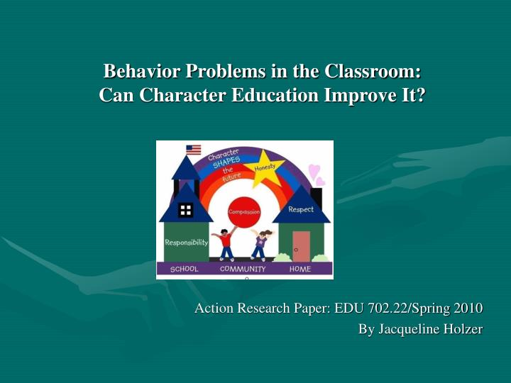research papers on classroom management
