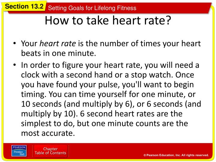 How to take heart rate?