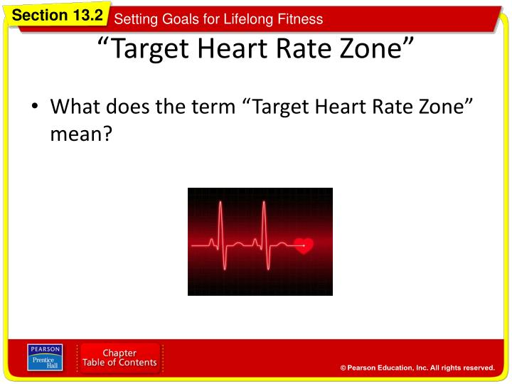 """Target Heart Rate Zone"""