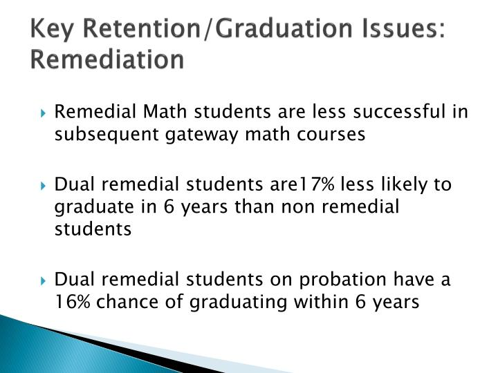 Key Retention/Graduation