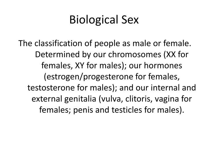 Biological Sex