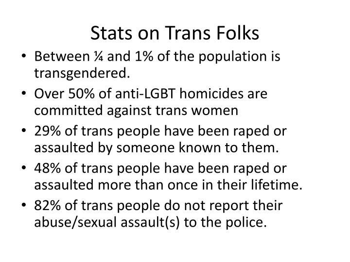 Stats on Trans Folks
