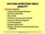 factors affecting weld quality4