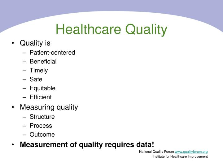 Healthcare Quality