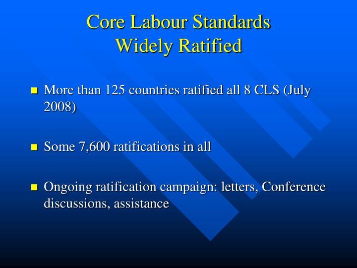 Core Labour Standards